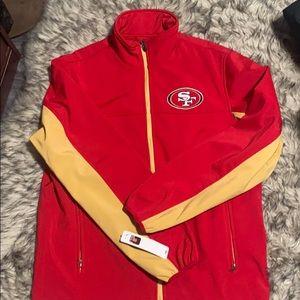 Men's San Francisco 49ers Jacket Size Medium